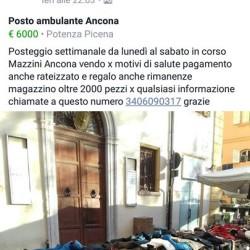 Posteggio ancona €6,000 - Potenza Picena Posto settimanale da lunedì...