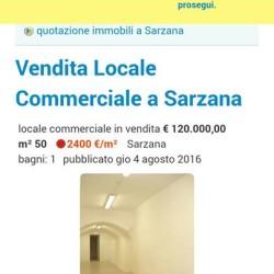 Fondo commerciale situato nel centro storico di Sarzana €100,000 -...
