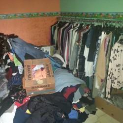 Abbigliamento donna usato FREE - Salerno Vendo stock di circa...