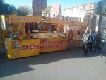 Cedo attivita ambulante di dolciumi ( frittelle _crepes -dolciumi) €1...
