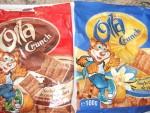 vendo snack di cereali ripieni di crema a cioccolata e...