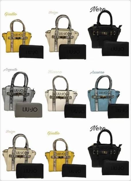 wholesale dealer 1e9e8 8607c set borsa e portafoglio liu jo cad €25 – Verona