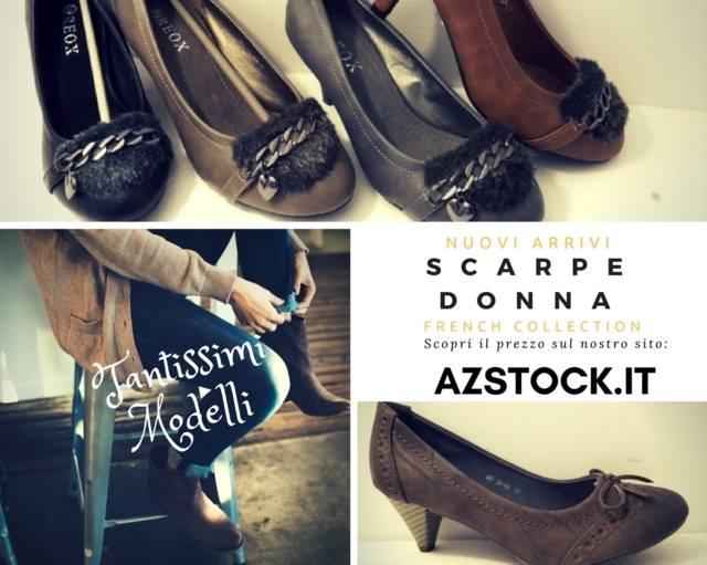 stock scarpe donna NEW €2 – azstock.it Stock scarpe donna… 4cbb81a1602