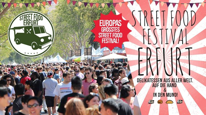 Street Food Festival Erfurt I Tour Finale 2017