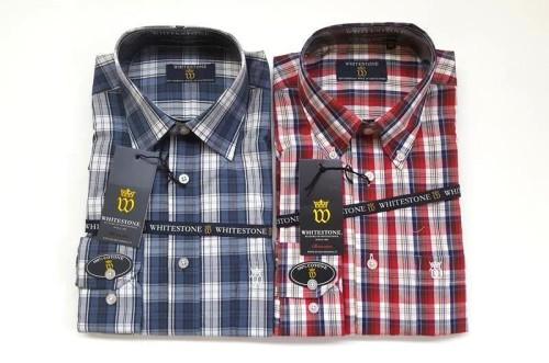 innovative design 1ad55 c212e Camicie uomo Whitestone.