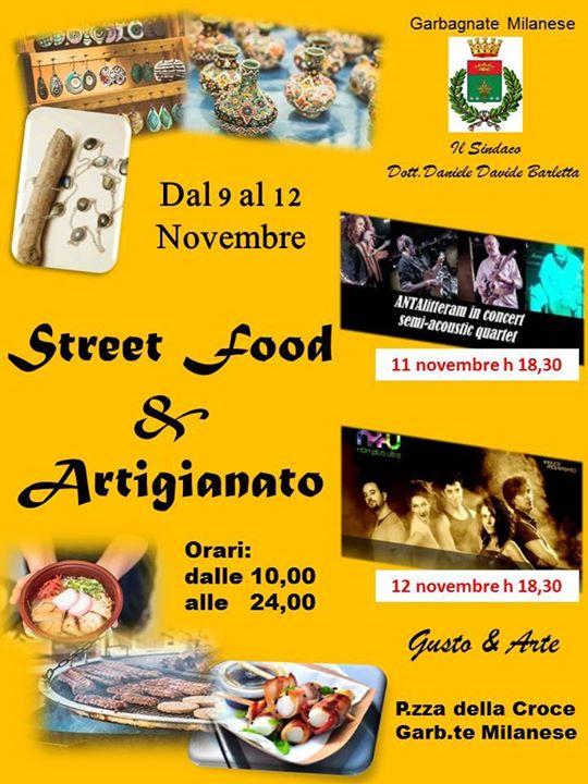 Street Food e Artigianato Gusto e Arte