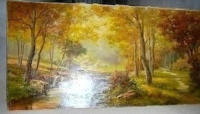 dipinto a olio grechi 60x110