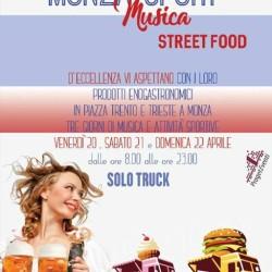 Le date per l'Urban Street food di Monza sono state...