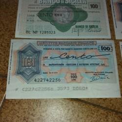 Miniassegni €1 - Siniscola Collezione molto vasta circa 400 pz...