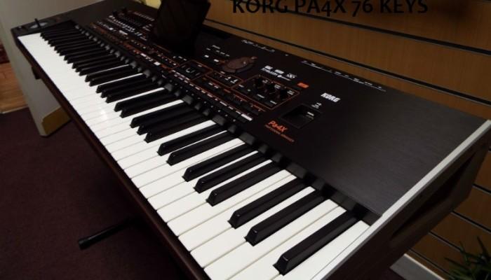 Korg Pa4x 76 Keys