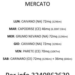 POSTEGGI MERCATO - PASQUALE CAPASSO