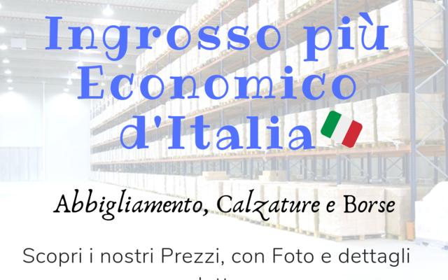 Ingrosso + Economico d'Italia AZSTOCK.IT
