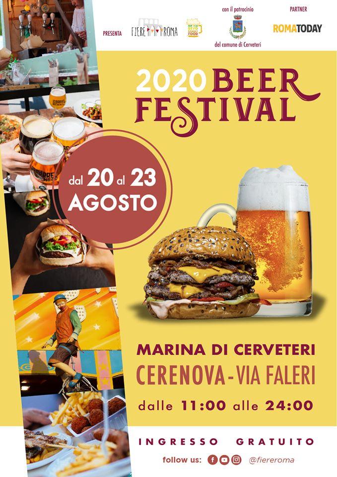 CERVETERI (RM): 2020 Beer Festival a Marina