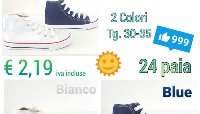 Sneakers Mod. Converse Baby AZSTOCK (1)