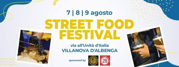 VILLANOVA D'ALBENGA (SV): Street Food Festival 2020