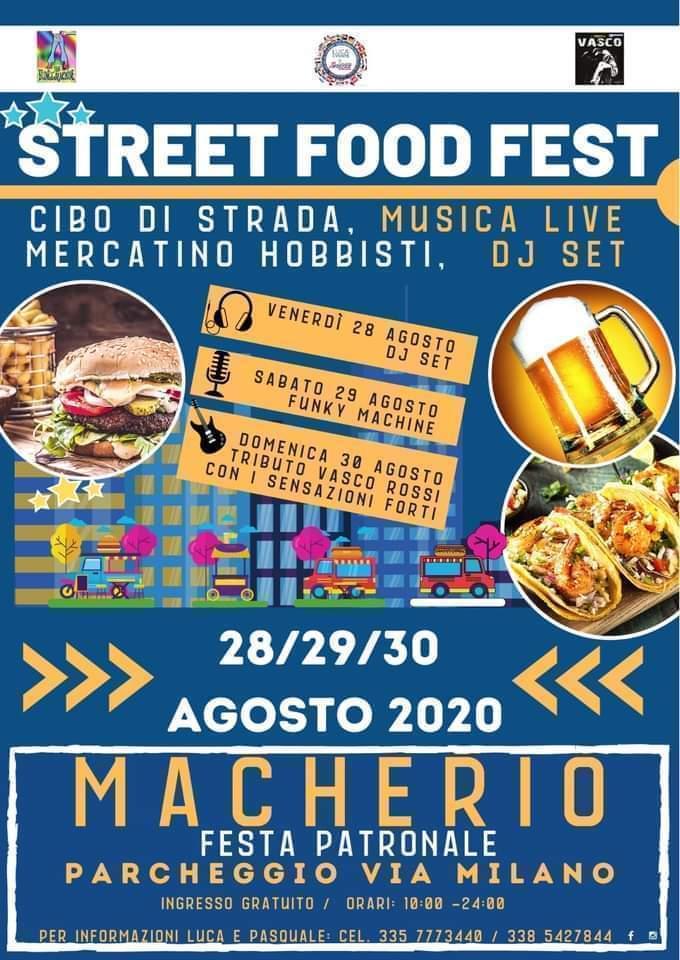 MACHERIO (MB): Street Food Macherio