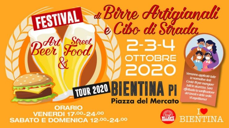 BIENTINA (PI): Art beer & Street food 2020