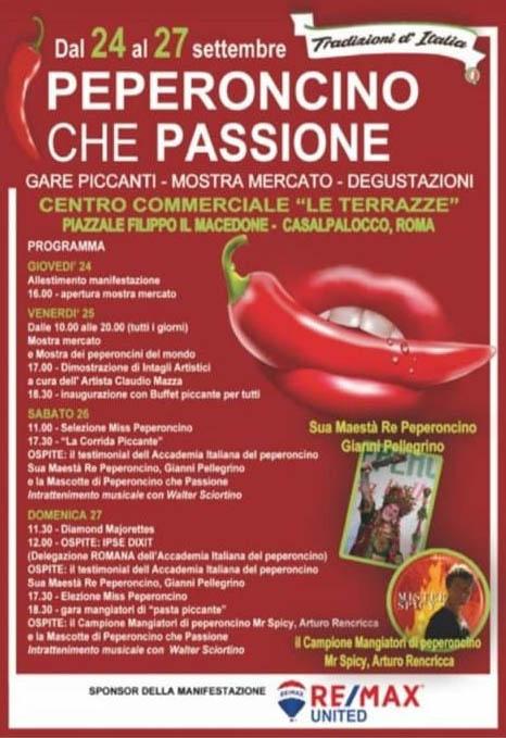 ROMA (RM): Peperoncino che passione 2020