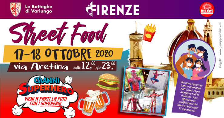 FIRENZE (FI): Street food 2020 in Via Aretina