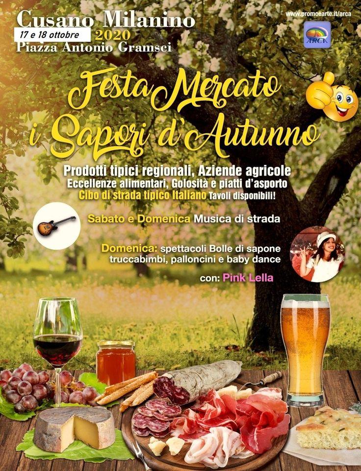 CUSANO MILANINO (MI): Festa mercato I Sapori d'Autunno 2020