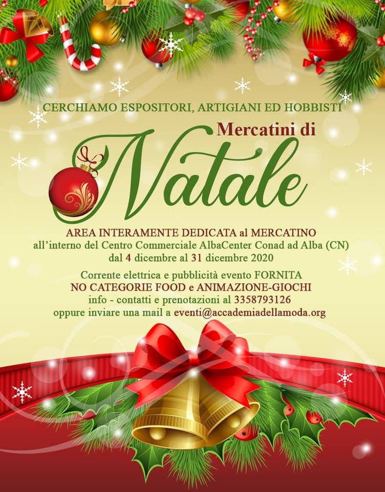 ALBA (CN): Mercatini di Natale 2020 all'AlbaCenter Conad