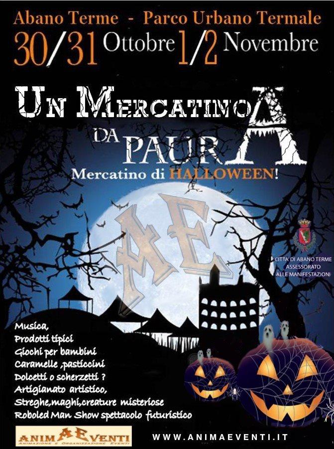 ABANO TERME (PD): Un mercatino da paura - Halloween 2020