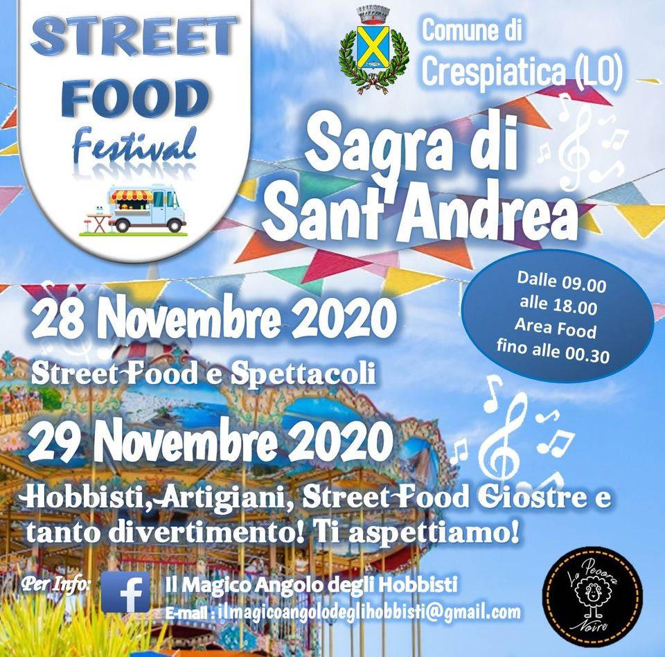 CRESPIATICA (LO): Sagra di Sant'Andrea 2020
