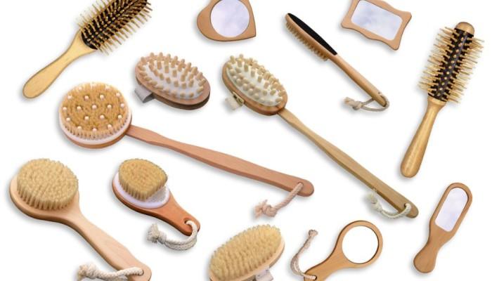lotto spazzole naturali