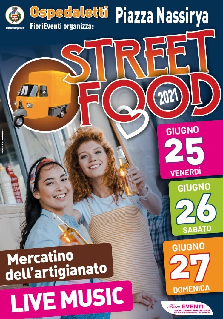 OSPEDALETTI (IM): Street Food 2021