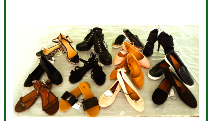 scarpe estate mercandi