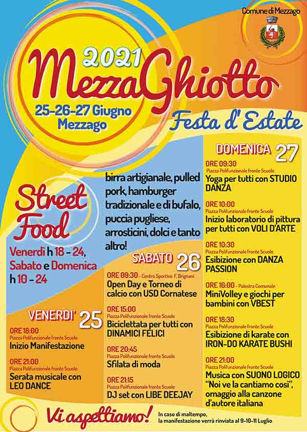 MEZZAGO (MB): MezzaGhiotto 2021