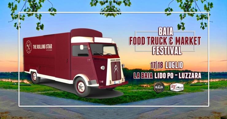 LUZZARA (RE): Baia Food Truck & Market Festival 2021