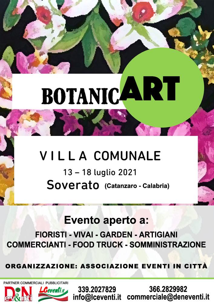 SOVERATO (CZ): Botanic Art 2021