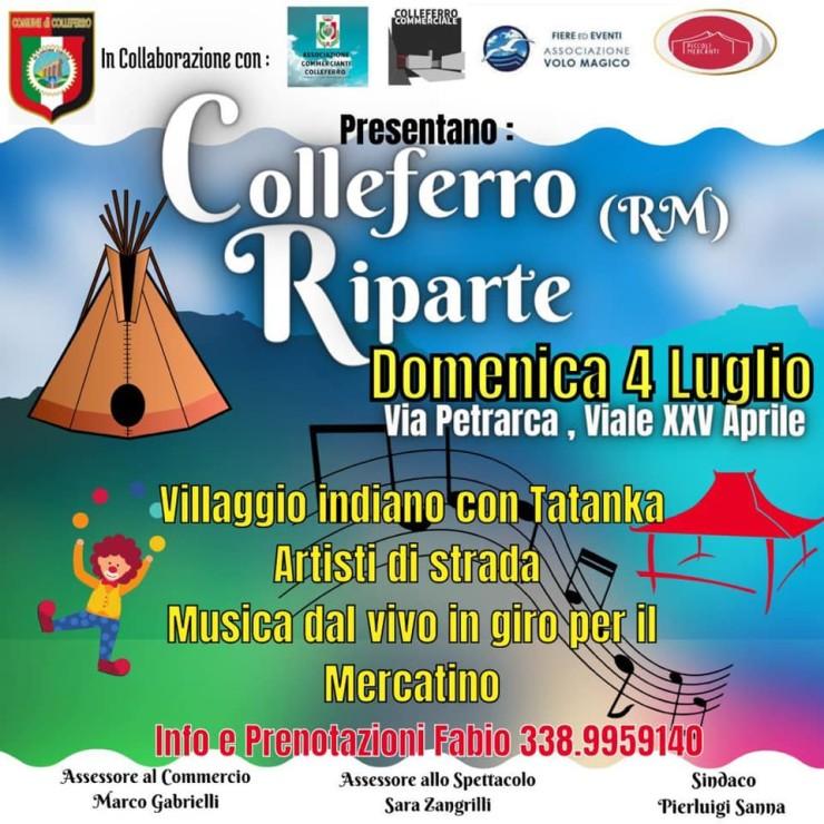 COLLEFERRO (RM): Colleferro Riparte 2021