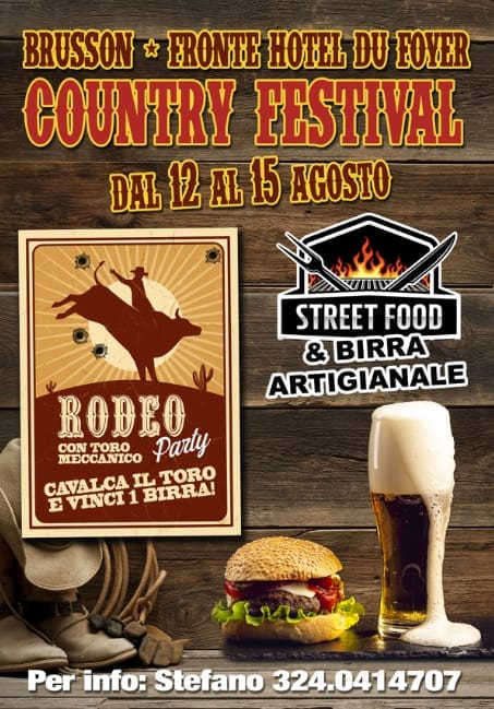 BRUSSON (AO): Country Festival 2021
