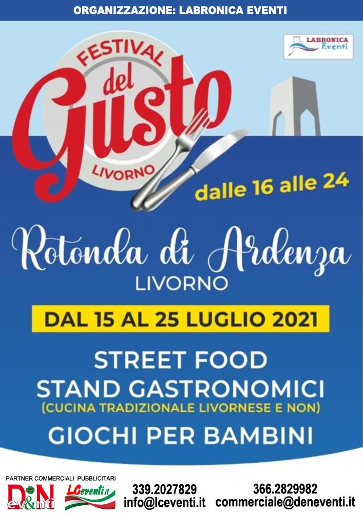 LIVORNO (LI): Festival del Gusto 2021