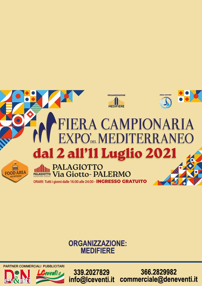 PALERMO (PA): Fiera Campionaria Expò del Mediterraneo 2021