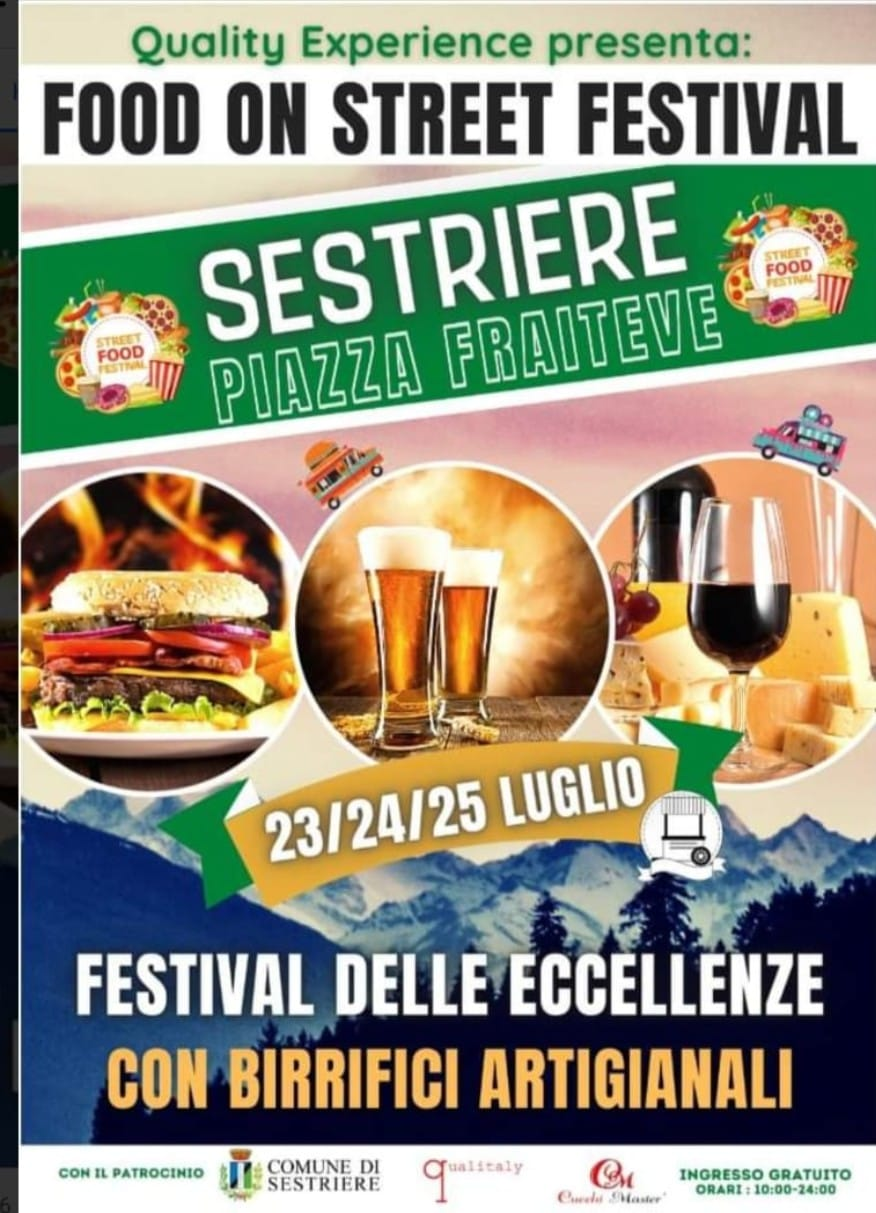 SESTRIERE (TO): Food on Street Festival 2021