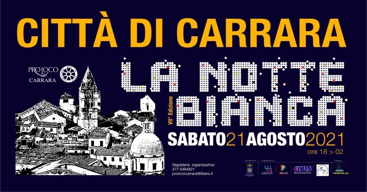 CARRARA (MS): Notte Bianca 2021