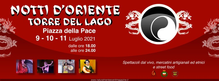 VIAREGGIO (LU): Notti d'Oriente 2021 a Torre del Lago Puccini