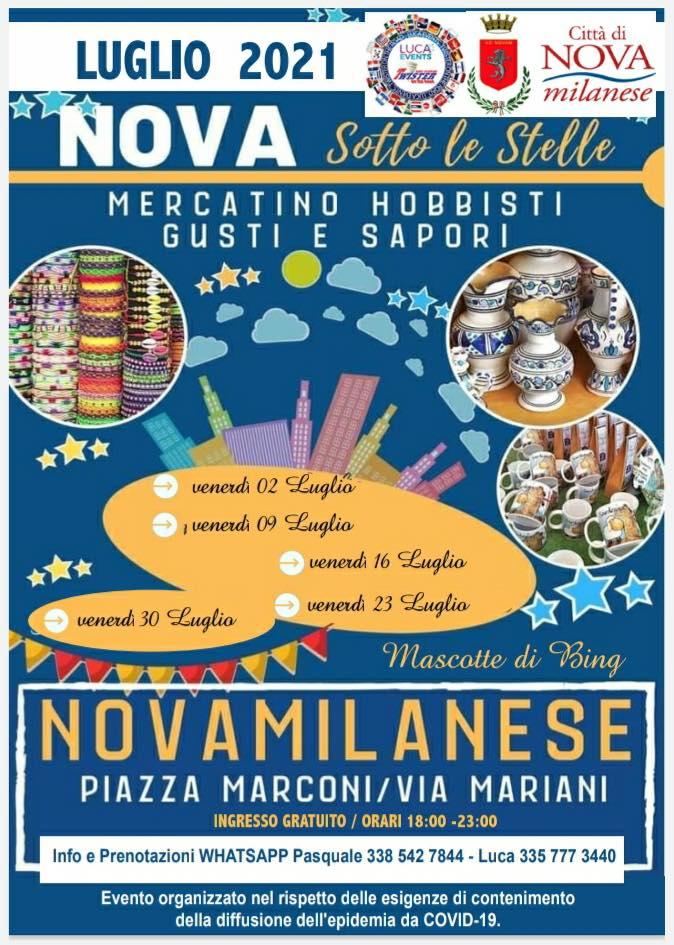 NOVA MILANESE (MI): Nova sotto le stelle 2021