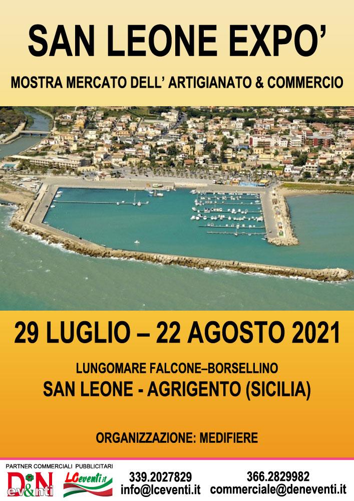 AGRIGENTO (AG): San Leone Expò 2021 a San Leone