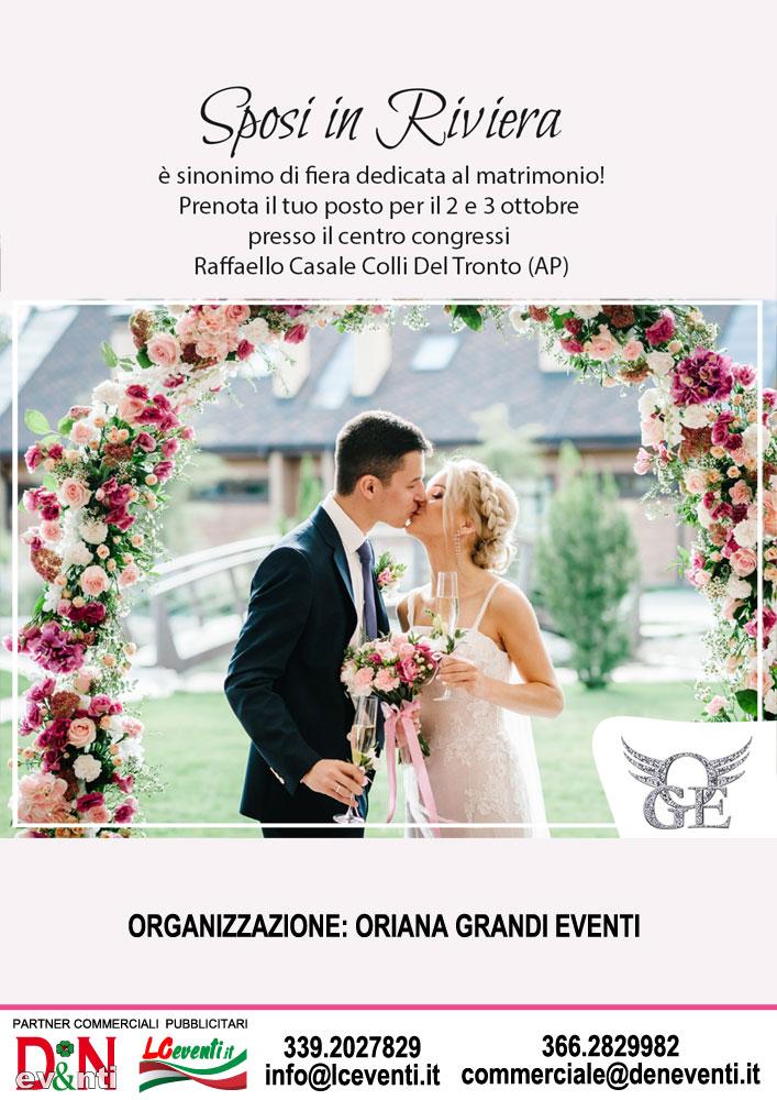 COLLI DEL TRONTO (AP): Sposi in Riviera 2021
