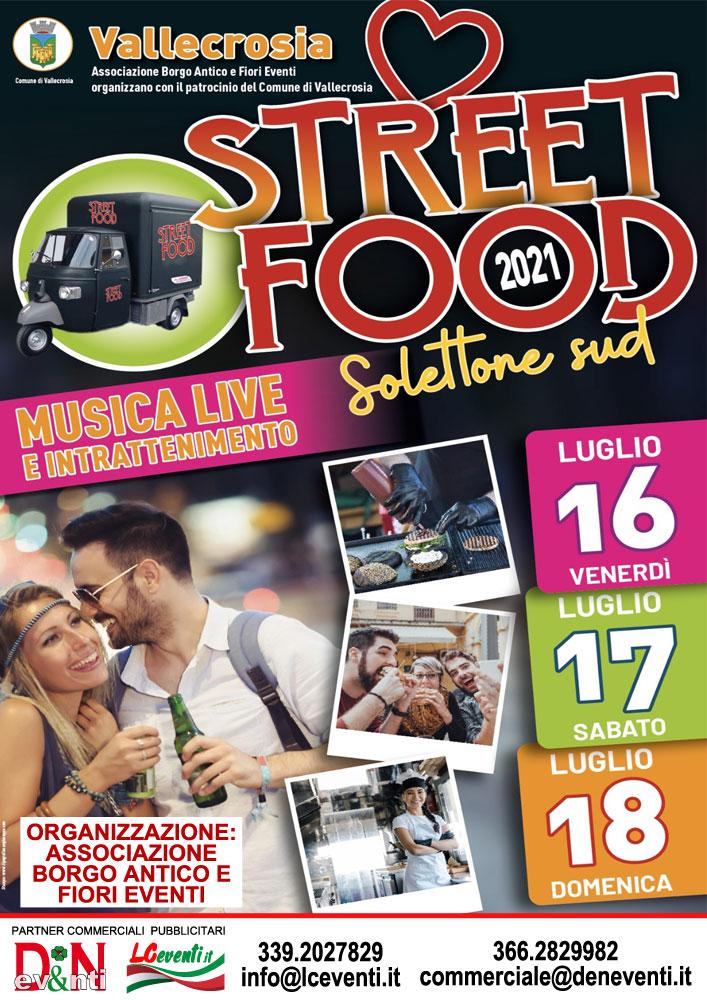VALLECROSIA (IM): Street Food 2021