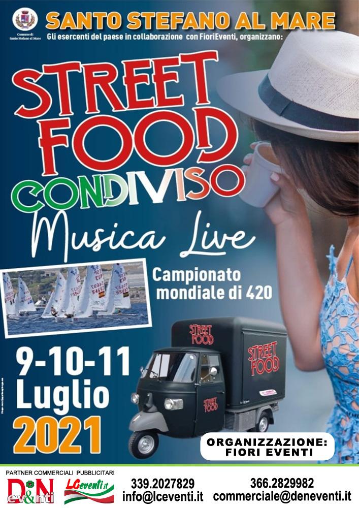SANTO STEFANO AL MARE (IM): Street Food condiviso 2021