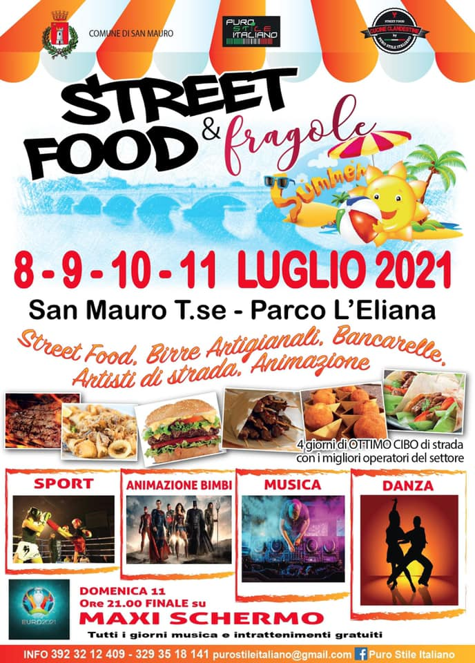 SAN MAURO TORINESE (TO): Street Food & Fragole 2021