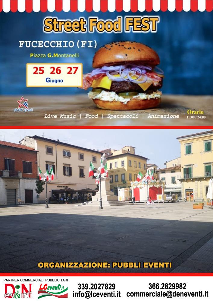 FUCECCHIO (FI): Street Food Fest 2021