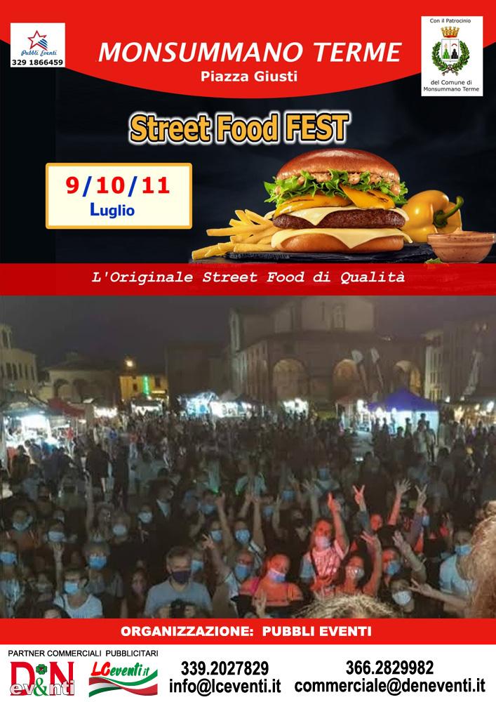 MONSUMMANO TERME (PT): Street Food Fest 2021