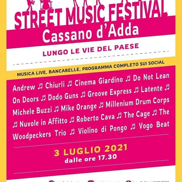 CASSANO D'ADDA (MI): Street Music Festival 2021