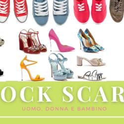 stock scarpe